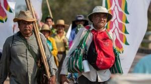 Gobierno convoca a indígenas marchistas al diálogo; envía 2 viceministros