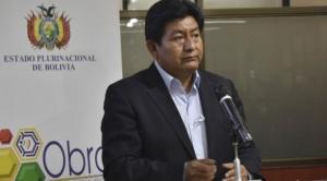 """Montaño responsabiliza por anticipado al Comité Pro Santa Cruz por posibles """"quiebras de empresas estatales"""""""