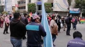 Gremialistas dan 72 horas al Gobierno para anular el proyecto de ley de contra ganancias ilícitas