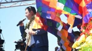 """Arce pide respeto a su mandato y advierte que el """"pueblo"""" hará respetar la """"mayoría"""" en las calles"""