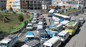 Choferes de El Alto dan 72 horas para anular proyecto de ley contra ganancias ilícitas