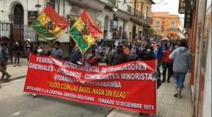 Gremiales dan 72 horas al Gobierno para abrogar la Ley 1386; amenazan con movilizaciones