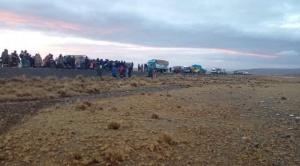 La explotación del oro contamina con aguas ácidas al río Suches que desemboca en el Titicaca