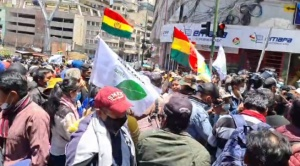 Cocaleros se movilizan contra el mercado paralelo de Alanes y el Gobierno
