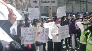 """Víctimas de robos digitales protestan y el Gobierno denuncia """"intención política"""" 1"""