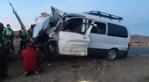 Accidente en carretera Oruro deja 12 fallecidos  1