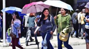 Alcaldía alerta de ola de calor, lluvias y alta radiación solar en La Paz 1
