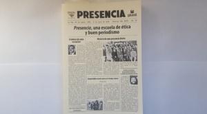 """""""Presencia, una escuela de ética y buen periodismo"""" 1"""