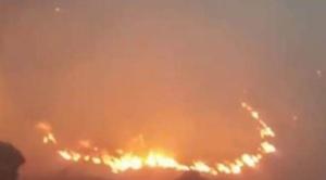 Tarija: gobernación reporta incendio forestal de gran magnitud a dos kilómetros de la Reserva de Tariquía
