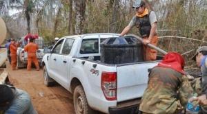 Denuncian que 200 bomberos argentinos enviados para sofocar incendios, se encuentran varados en frontera