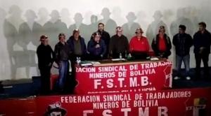 En La Paz: huelga de hambre y movilizaciones de mineros de San Cristóbal para demandar cumplimiento de laudo arbitral en su favor