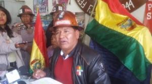 Mineros de San Cristóbal retornaron a La Paz porque la compañía pide que los trabajadores paguen daños y perjuicios