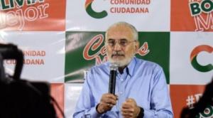 """Tras la imputación a Valdivia, Mesa a Evo: """"Enfréntese conmigo en las urnas"""" y no a través de la """"sucia"""" persecución"""