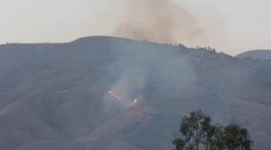 Se presume que incendio que arrasó 30 hectáreas en el parque Tunari fue provocado por conflicto de limites