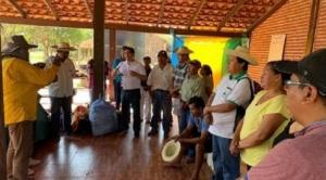 X Marcha Indígena espera llegar mañana al municipio de San José de Chiquitos