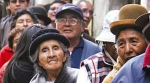 """Ante aseveraciones de Álvaro García Linera, jubilados de Oruro piden """"sus cuatro mil dólares"""""""
