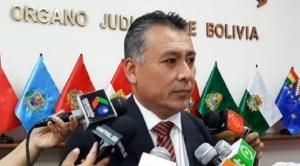 Cuestionado Consejero Omar Michel presenta denuncia penal contra expresidente del Consejo de la Magistratura Wilber Choque