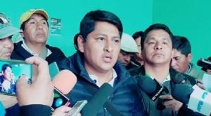 Se ampliará periodo de investigaciones en caso Franclin Gutiérrez por la imputación a otro dirigente de Adepcoca