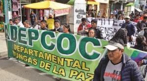 Nuevas presiones contra Adepcoca y sus dirigentes, agravan conflicto de cocaleros