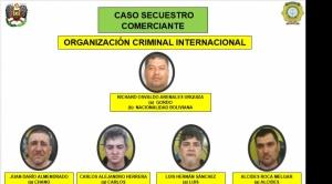 Desarticulan banda, integrada por argentinos y bolivianos, que secuestró a empresario cruceño