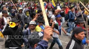 En Ecuador rige toque queda nocturno parcial y la ONU e Iglesia quieren  mediar en crisis social