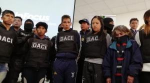 Desarticulan dos peligrosas pandillas que aclaran muerte de un joven y acuchillamiento