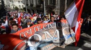 Gobierno convoca a Comcipo a dialogar, cívicos anuncian que acudirán a la cita sin levantar sus medidas de presión
