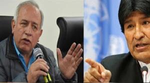 """Evo Morales cuestiona actitud de vocal del TSE Antonio Costas respecto a """"su repostulación"""""""