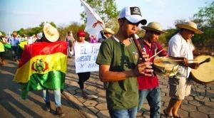 Movilizados de la X Marcha indígena retornaran a sus regiones cuando lleguen a Santa Cruz para cumplir norma electoral