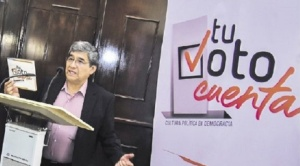 """Iniciativa estratégica """"Tu Voto Cuenta"""" anuncia que publicará conteo rápido de votos a las 20.00 horas del día de elecciones"""