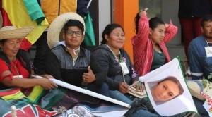 X Marcha Indígena permanecerá en atrio de la Catedral de la capital cruceña, a pesar de Auto de Buen Gobierno