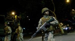 Rige estado de excepción en Chile, hay 308 detenidos y 500 militares en las calles