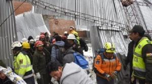 La Paz: nueve estudiantes heridos por desplome de tinglado de colegio Vida Nueva tras fuerte granizada