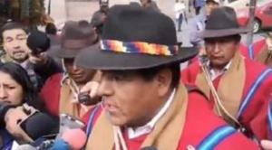 """""""Ponchos rojos"""" amenazan con toma de alcaldías de La Paz y El Alto y castigo a autoridades locales y cívicas"""