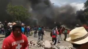 Muere el joven que tenía golpes en la cabeza, hay otros 100 heridos tras la jornada de violencia en Cochabamba