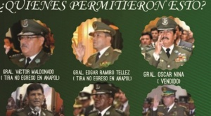 """Policías en servicio activos cuestionan a comandante general Vladimir Calderón por su """"alineación"""" con el MAS"""