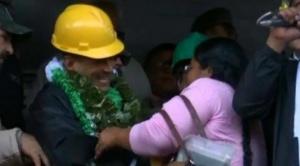 Camacho anuncia que no se irá de La Paz y la carta de renuncia de Evo será entregada en unidad