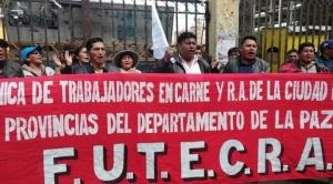 Carniceros de El Alto se desmarcan del MAS y piden nuevas elecciones con nuevos vocales electorales