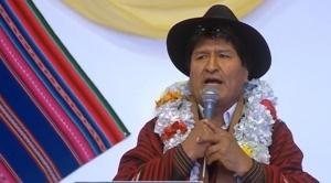 """""""No voy a renunciar"""", afirmó Evo Morales y convocó a """"defender el proceso de cambio"""""""