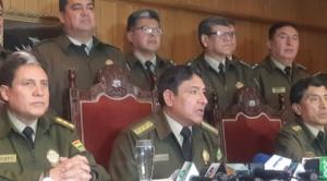 Comandante de Policía hace un llamado de paz a las fuerzas vivas del país y la sociedad en su conjunto