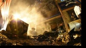 En Cochabamba, incendian sede de las seis federaciones de cocaleros y oficinas del MAS