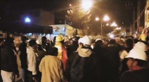 Tras fuertes enfrentamientos, Adepcoca contestataria recupera instalaciones de hospital