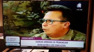 Más problemas para Morales, las FFAA aseguran que no reprimirán al pueblo
