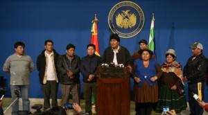 Después que la OEA estableció fraude, Evo anuncia renovación de vocales electorales y nuevas elecciones generales