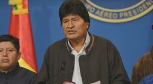 Morales no confirma si será candidato nuevamente, asegura que no renunciará antes del 22 de enero