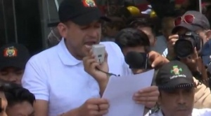 """Camacho pide la renuncia de Morales y exige una """"junta de gobierno"""" conformada por notables"""