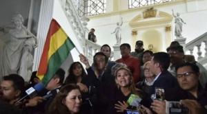 Jeanine Áñez anuncia garantías a asambleístas del MAS para la instalación del Senado