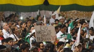 La asombrosamente rápida caída de Morales