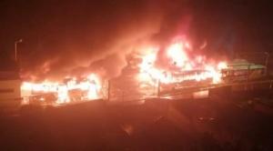 Para tranquilizar a la población, Alcalde de La Paz asegura que buses Pumakatari quemados contaban con seguro 1