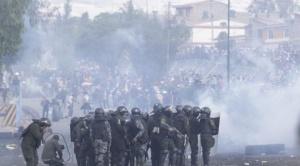 Al menos cinco personas murieron en los enfrentamientos de Sacaba 1